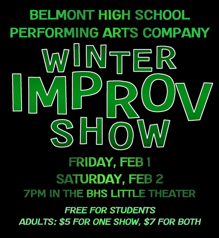Winter Improv Show 2019
